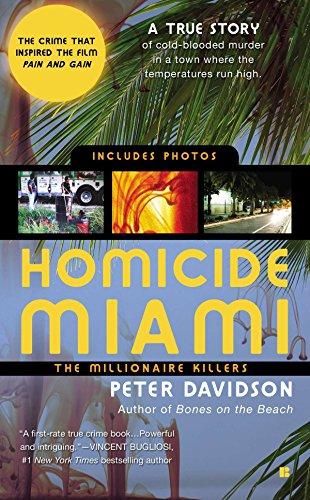 9780425229019: Homicide Miami: The Millionaire Killers