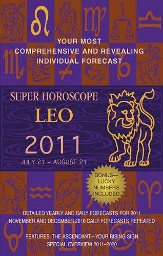 9780425232897: Super Horoscope Leo: July 21 - August 21 (Super