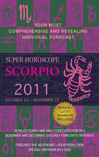 9780425232927: Scorpio (Super Horoscopes 2011)