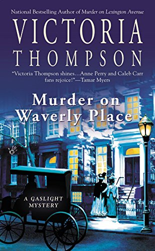 Murder on Waverly Place (Gaslight Mystery) (0425235203) by Thompson, Victoria