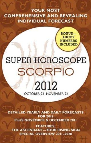 9780425239421: Scorpio (Super Horoscopes 2012)