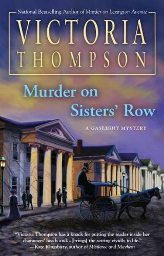 9780425241158: Murder on Sisters' Row (Gaslight Mystery)