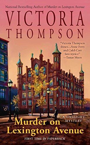 Murder on Lexington Avenue (Gaslight Mystery): Thompson, Victoria