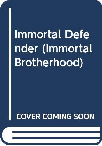 9780425243718: Immortal Defender (Immortal Brotherhood Novels)