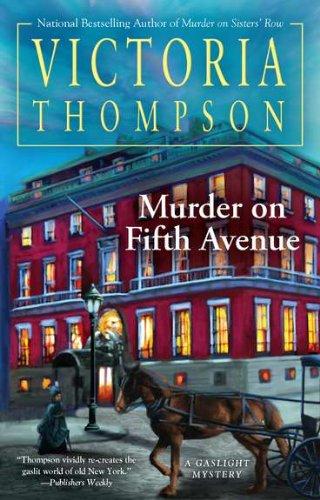 9780425247419: Murder on Fifth Avenue (Gaslight Mystery)