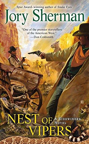 Nest of Vipers (Sidewinder Novels (Berkley Books)): Jory Sherman