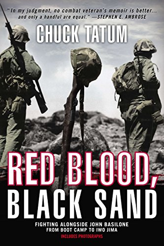 9780425257425: Red Blood, Black Sand: Fighting Alongside John Basilone from Boot Camp to Iwo Jima