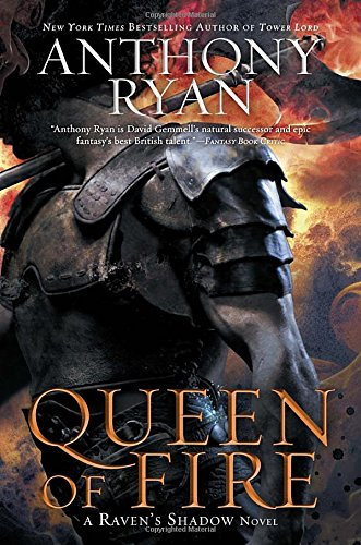 9780425265642: Queen of Fire (Raven's Shadow Trilogy)