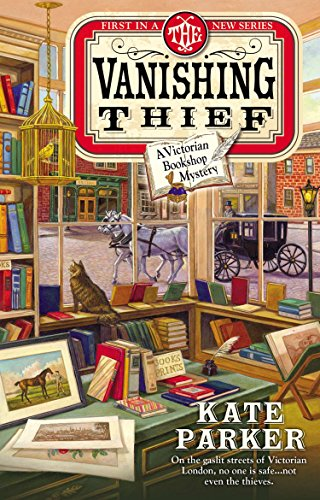 9780425266601: The Vanishing Thief (A Victorian Bookshop Mystery)