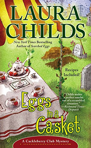 Eggs in a Casket (A Cackleberry Club Mystery) BRAND NEW UNOPENED COPY