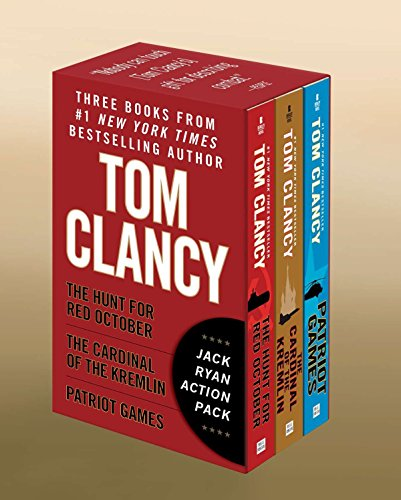 9780425273081: Tom Clancy's Jack Ryan Action Pack: The Hunt for Red October/The Cardinal of the Kremlin/Patriot Games
