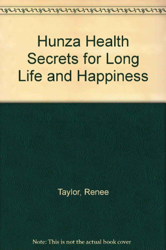 9780426035008: Hunza Health Secrets for Long Life and Happiness