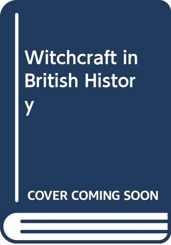 9780426168461: Witchcraft in British History