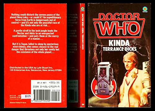 9780426195290: Doctor Who: Kinda (Target Doctor Who Library, 84)