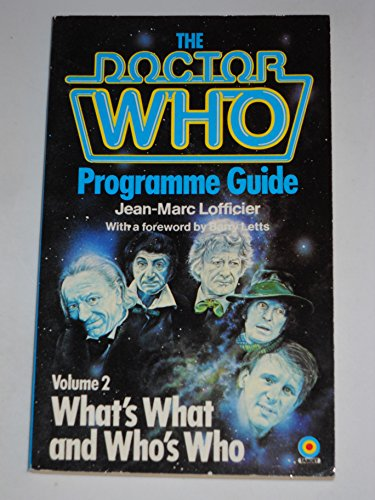 Doctor Who Programme Guide Volume 2 (0426201426) by Lofficier, Jean-Marc