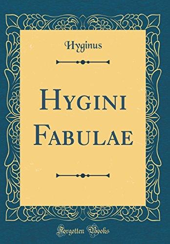 9780428394783: Hygini Fabulae (Classic Reprint) (Latin Edition)