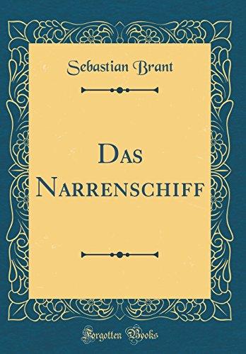 9780428433970: Das Narrenschiff (Classic Reprint)