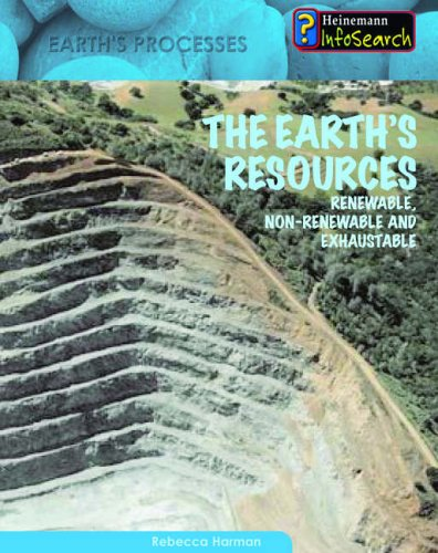 9780431013022: The Earth's Resources (Heinemann Infosearch: Earth's Processes) (Heinemann Infosearch: Earth's Processes)