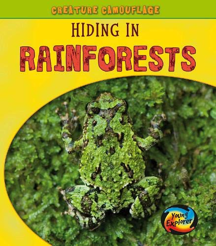 9780431013176: Hiding in Rainforests (Creature Camouflage)