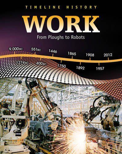 9780431025636: Work: From Ploughs to Robots (Timeline History)