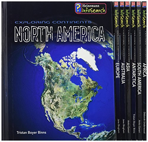 Exploring Continents: Pack A (Infosearch: Exploring Continents): Pack A (Infosearch: Exploring Continents) (9780431097497) by Deborah Underwood; Tristan Boyer Binns; Anita Ganeri; Jane Bingham