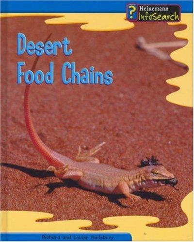 9780431119038: Food Chains: Desert Hardback (InfoSearch: Food Chains)