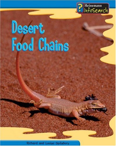 9780431119106: Desert Food Chains (Food Chains and Webs) (Food Chains and Webs)