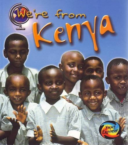 9780431119557: We're From Kenya
