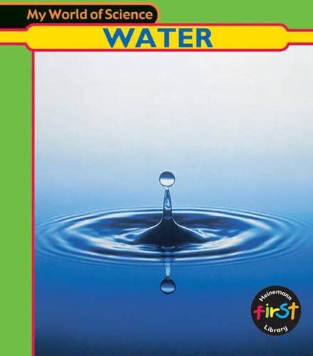 9780431137032: My World of Science: Water Hardback