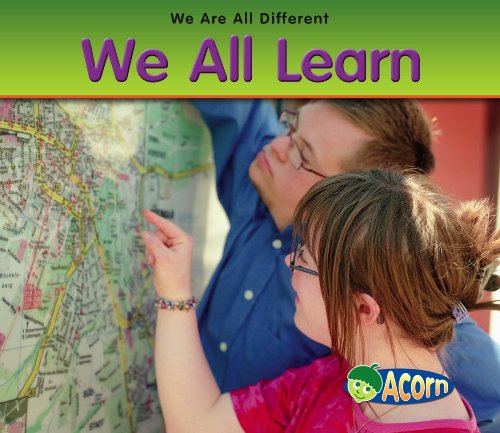 9780431193175: We All Learn (Acorn: We Are All Different)