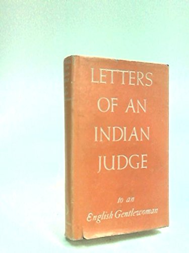 Letters Of An Indian Judge To An: Arvind Nehra
