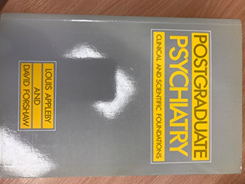 Postgraduate Psychiatry: Appleby, louis; Forshaw, David