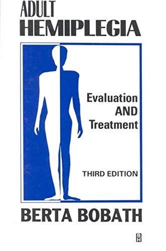 9780433000983: Adult Hemiplegia Evaluation and Treatment
