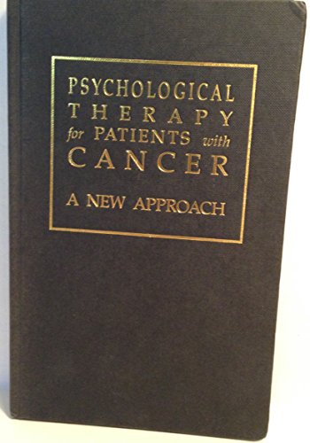 Psychological Therapy for Patients With Cancer: A: Moorey, Stirling; Greer,