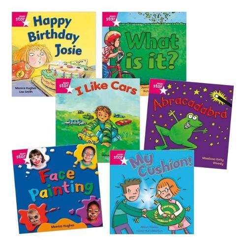 9780433006664: Learn at Home:Star Reading Pink Level Pack (5 fiction and 1 non-fiction book)