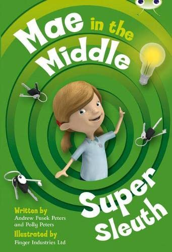 Mae in the Middle: Super Sleuth: Lime B/3c (Mixed media product): Andrew Peters, Polly Peters
