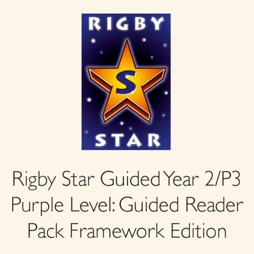 9780433019602: Rigby Star Guided Year 2/P3 Purple Level: Guided Reader Pack Framework Edition