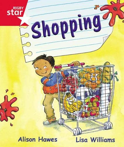 9780433026587: Rigby Star Guided Reception Red Level: Shopping Pupil Book (Single)