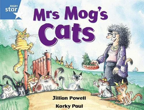 9780433027720: Rigby Star Guided 1 Blue Level: Mrs Mog's Cats Pupil Book (Single)