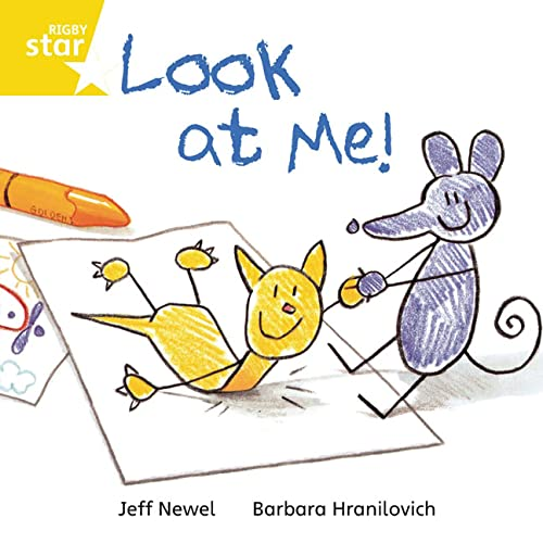 9780433029847: Look at Me: Yellow Level, Book 3 (with Parent Notes) (Rigby Rocket)