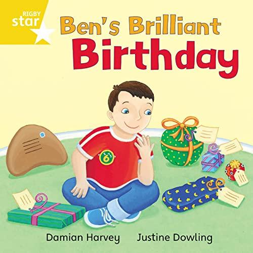 9780433029946: Rigby Star Independent Yellow Reader 10: Ben's Brilliant Birthday