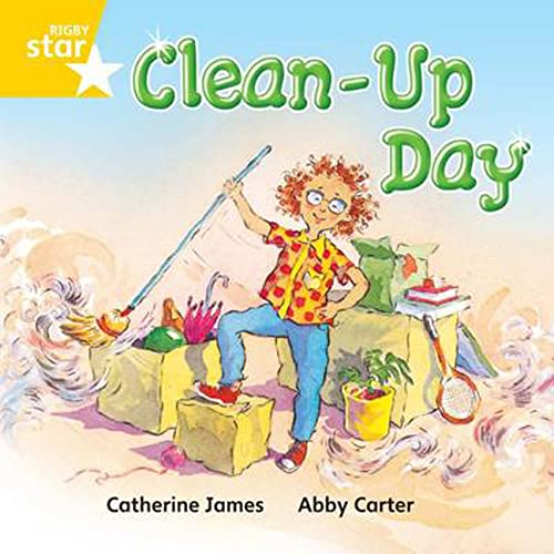 9780433029953: Clean Up Day: Yellow Level, Book 13 (with Parent Notes) (Rigby Rocket)