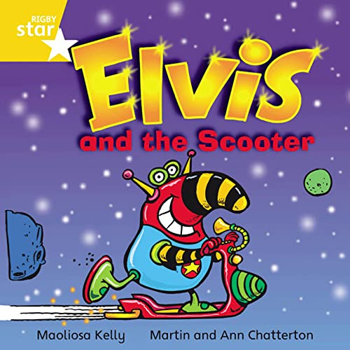 9780433029991: Elvis and the Scooter: Yellow Level, Book 17 (with Parent Notes) (Rigby Rocket)