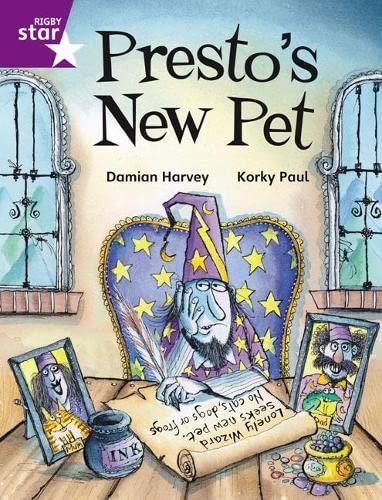 9780433030430: Presto's New Pet: Purple Reader 2 (Rigby Star Independent)