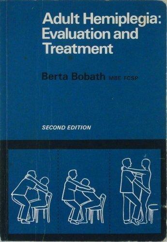9780433033349: Adult Hemiplegia: Evaluation and Treatment