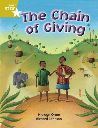 9780433034636: The Chain of Giving: Gold Level, Book 7 (with Parent Notes) (Rigby Rocket)
