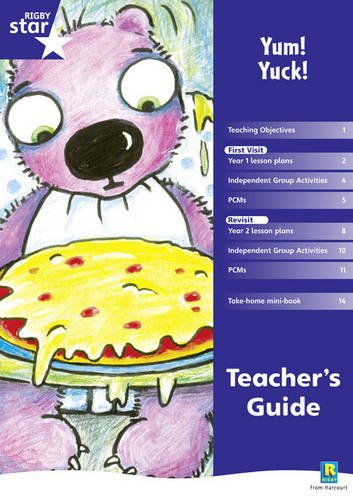 9780433041320: Rigby Star Shared Year 1 Fiction: Yum Yuck Teachers Guide (RED GIANT)