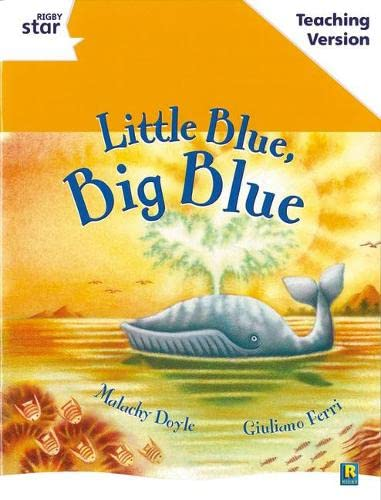 9780433050247: Little Blue, Big Blue (Rigby Star)