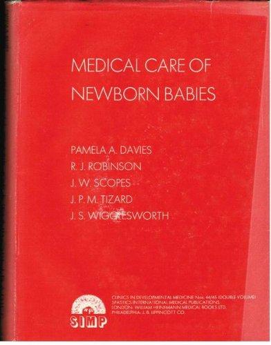 9780433323754: Davies;Medical Care Newborn Cdm 44/45 (Clinics in developmental medicine)