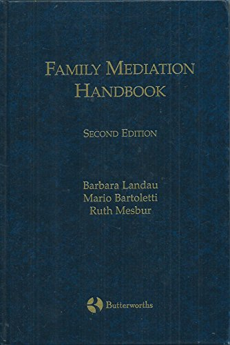 9780433398097: Family Mediation Handbook
